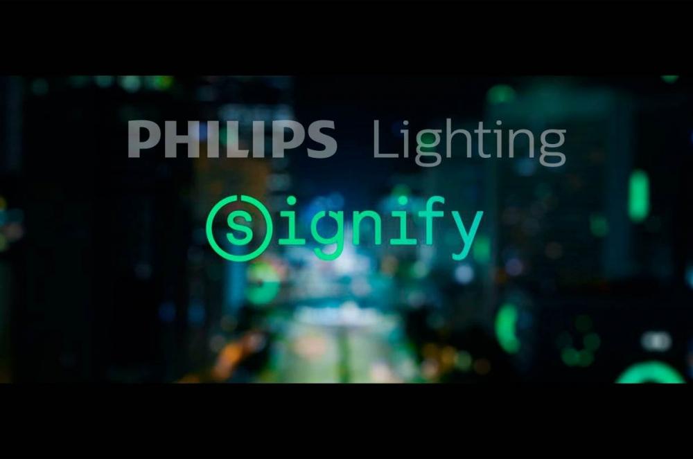 Signify, el nuevo nombre de Philips Lighting