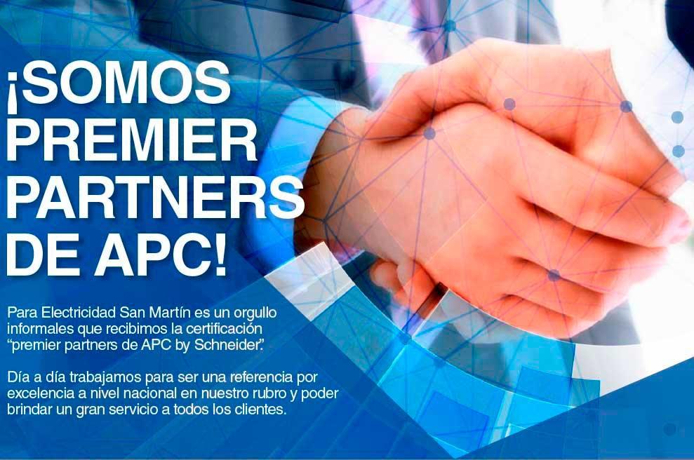 ¡Somos premier partners de APC!